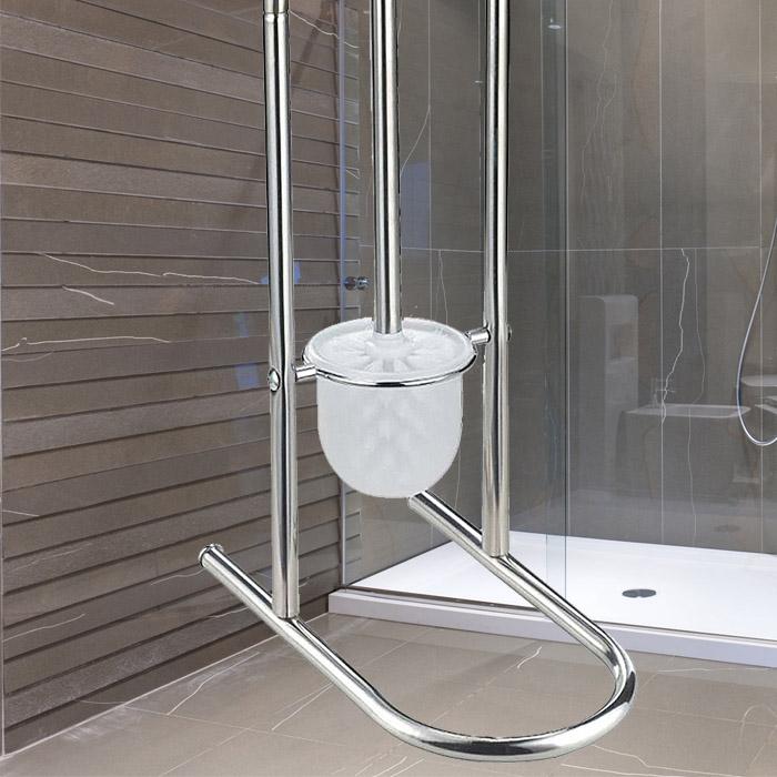 neu wc garnitur wc papierrollenhalter papierhalter. Black Bedroom Furniture Sets. Home Design Ideas