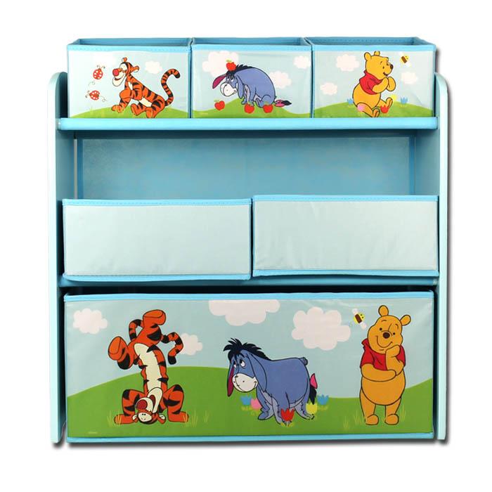 aufbewahrungsbox disney winnie the pooh spielzeugkiste spielzeugbox kinder regal ebay. Black Bedroom Furniture Sets. Home Design Ideas