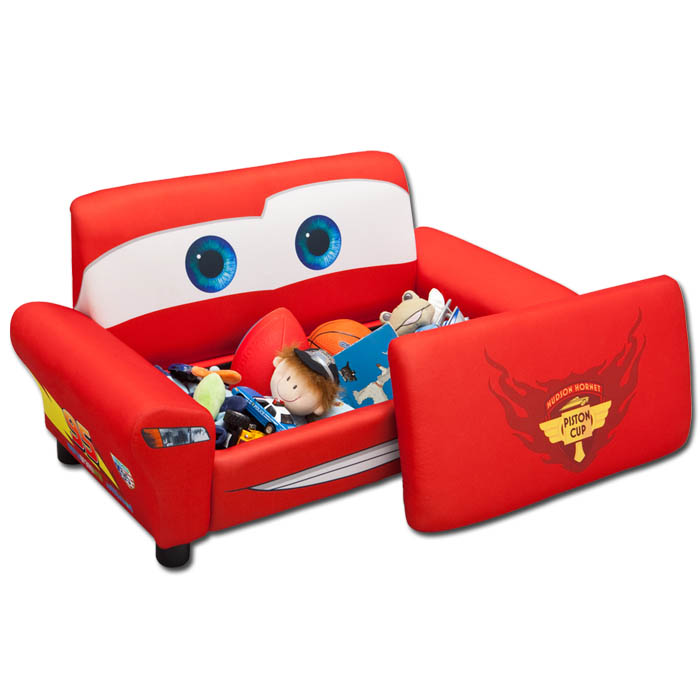 kindersofa disney cars m bel kinder sofa kindersofa spielzeugkiste couch toybox. Black Bedroom Furniture Sets. Home Design Ideas