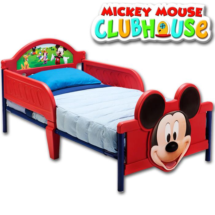 disney mickey mouse kinderbett kinder bett kinderm bel jugendbett jungen 140x70 ebay. Black Bedroom Furniture Sets. Home Design Ideas